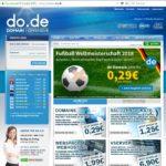 Grafik zeigt die Startseite von Do.de